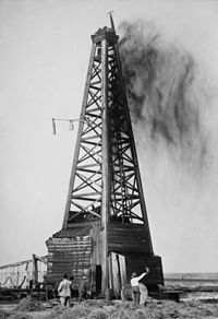 The first oil in Oklahoma was discovered in  July 1850, in the old Cherokee Nation near Salina in Mayes County.The oil was discovered in a well that had been drilled for salt. In 1907, before Oklahoma became a state, Oklahoma produced the most oil of any state or territory in the United States.