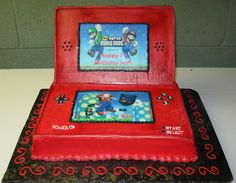Nintendo DS Birthday Cake - Another view - Too CUTE!!!