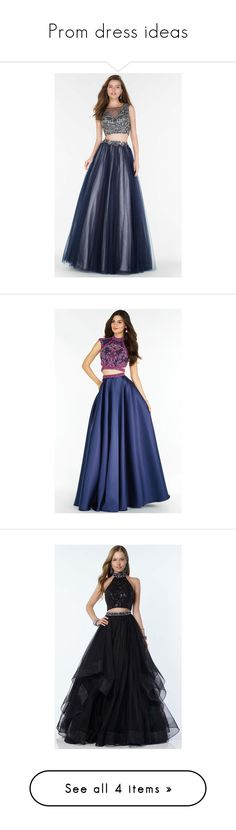 """""""Prom dress ideas"""" by lustydame ❤ liked on Polyvore featuring dresses, gowns, formal dresses, navy, navy blue formal dress, formal evening gowns, long prom gowns, long formal dresses, long prom dresses and prom dresses"""
