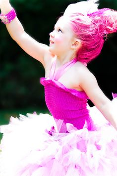 SALE Majestic Pink Troll Costume by IzzysCouture on Etsy
