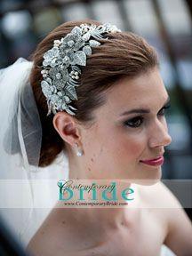 bridal headpiece, bridal tiara, wedding hair