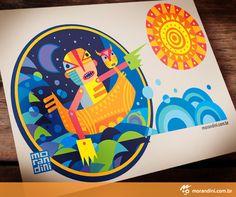 Editorial Illustration for Publish Magazine.  By morandini.com.br