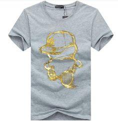 ed3f4b39edd cotton 3DT-shirts men 2016 summer new arrvial funny teenage man s print T- shirt
