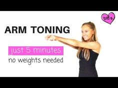 ARM EXERCISES FOR WOMEN - 5 MINUTE ARM TONING WORKOUT -and find out how to lose arm fat - YouTube