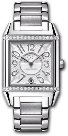 Jaeger LeCoultre Watch Reverso Squadra Lady Duetto #bezel-diamond #bracelet-strap-steel #brand-jaeger-lecoultre #case-material-steel #case-width-42-x-28-8mm #date-yes #day-night-yes #delivery-timescale-4-7-days #gender-ladies #luxury #movement-automatic #new-product-yes #official-stockist-for-jaeger-lecoultre-watches #packaging-jaeger-lecoultre-watch-packaging #style-dress #subcat-reverso #supplier-model-no-q7058120 #warranty-jaeger-lecoultre-official-2-year-guarantee #water-resistant-50m