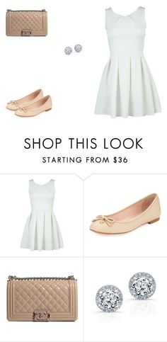 """111 outfit"" by julieannbb13 ❤ liked on Polyvore featuring Kate Spade and Chanel"