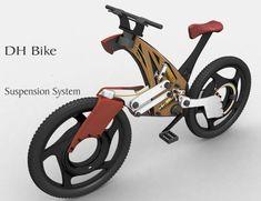タフな地形DHバイクのための簡単なバイク