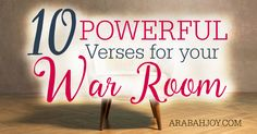 Do you want to deepen your prayer life and do warfare like never before? These 10 powerful Scriptures will equip you for doing spiritual warfare...