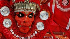 Theyyam (Ok, not a woman but just too cool to not include)