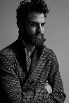 Bearded Male Models