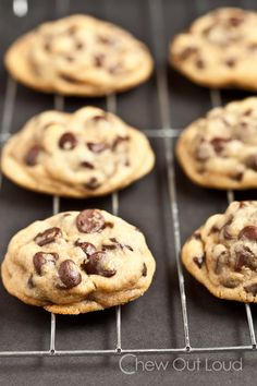 Chewy Soft Chocolate Chip Cookies - Best chocolate chip cookies that stay soft and chewy (not cakey) for days.  Dough freezes beautifully.