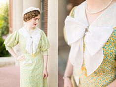 As promised, here are the details of my latest 1930s dress. :-)     As I mentioned in my pocket tutorial post  for this dress, I knew I ...