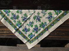 Incredibly beautiful Floral Vintage Ukrainian от RussianshawlMayya