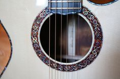Laurie WIlliams Guitars - rosette
