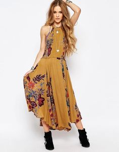 Free People | Free People Seasons In The Sun Midi Dress at ASOS