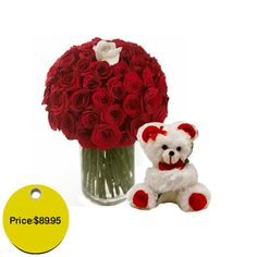 Cuteness is a necessary attribute when it comes to gifts for special and romantic occasions. In this context, it is pertinent to state that some occasions are really incomplete without the right Flowers and Teddy bears or other soft toys to match. Teddy and flowers are really essential when it comes to Valentine's Day, Anniversaries, birthdays, Friendship day and many occasion. #Flower #flower #florist #flowershop #bouquet #Teddybear