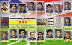 Panini USA 94 Official World Cup 1994 Sticker Album Book 3