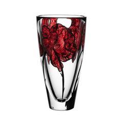 Vases – Home Decor : Kosta Boda 'Tattoo' Vase -Read More – Interior Art Nouveau, Tattoo Collection, Glass Collection, Eco Friendly Paint, Design Floral, Kosta Boda, Wooden Vase, Pottery Vase, Vases Decor
