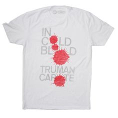 In Cold Blood Men's Tee White - by Out of Print; this company offers a bunch of classic book covers as shirts