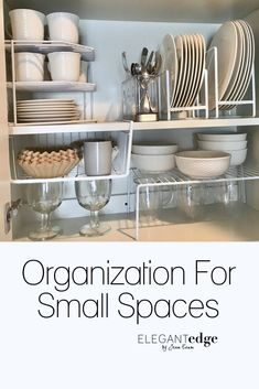 Homeware organization for small spaces and optimizing vertical space. I spent d… Homeware organization for small spaces and optimizing vertical space. I spent days scouring the internet and ordering different homeware organizational pieces for my parent' Home Organization, Small House Organization, Small Spaces, Decorating Small Spaces, Kitchen Decor, Homeware, Kitchen Organization, Kitchen Organisation, Small Kitchen Decor
