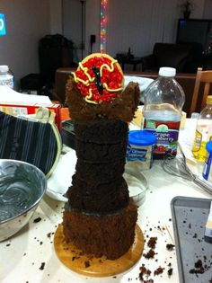 Lord of the Rings cake//one I could actually recreate lol
