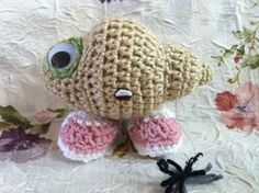 just needs a crocheted lentil hat! creator Kari D. includes a tutorial for MtSwSo at cut out and keep.