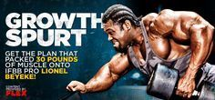 The plan that packed 30 pounds of muscle onto IFBB pro Lionel Beyeke.