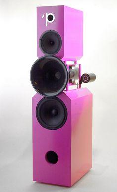 Pink Faun, les enceintes zoziotériques d'une marque néerlandaise qui porte bien son nom.