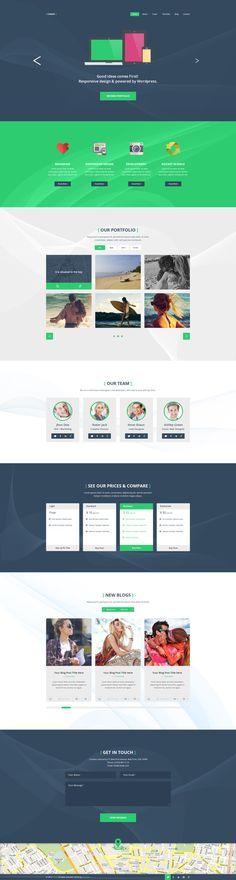 Cobalt - A One and Multi Page Portfolio Theme