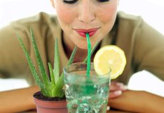 Aloe Vera - Make A Detox Drink That Cleanses The Body