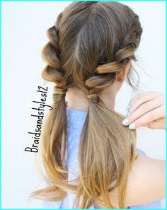 4 Easy Summer Hairstyles by Braidsandstyles12. Braided Hairstyles , Pigtail Hairstyles
