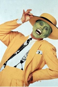 The Mask - Jim Carrey (still unclear as to why i was obsessed with this as a child)