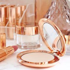 Charlotte Tilbury's Airbrush Flawless Finish, Magic Cream and Liv It Up Lipstick 💕 . Charlotte Tilbury, Airbrush, Essentials, Lipstick, Magic, Cream, Air Brush Machine, Creme Caramel, Lipsticks