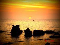 Sunset in Phu Quoc Island, Vietnam