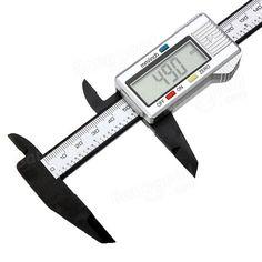6 Inch 150mm  Composite Digital Electronic Caliper Ruler