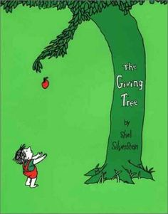 The Giving Tree Shel Silverstein, 切り株がぐぐっとせを伸ばすと