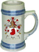 Anderson Family Crest Stein / Coat of Arms Beer Tankard. We believe our Coat of Arms Steins are of the highest quality anywhere. The glassware quality is very thick and sturdy. The stein feels great in your hand with a very thick handle. Rankin Family, Irish Coat Of Arms, Fox Coat, Family Crest, The Ordinary, How To Draw Hands, Hand Drawn, Ancestry, Scotland