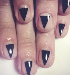 Could make this out of small strips instead of one big triangle