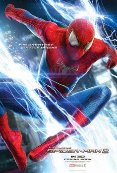 """Pôster de """"O Espetacular Homem-Aranha: A Ameaça de Electro""""."""