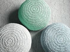 Light Mint Footstool Crochet Pouf - Mint Nursery Decor - Living Room Knit Ottoman Poufs - Kids Furniture - Baby Shower Gifts   Lovely for Nurseries, Kids room or Living rooms, this Footstool Pouf is perfect for a baby shower gift, boys or girls. Its the perfect finish to a Nursery Decor! Poufs are great to use as floor pillows around the house, also to use as footstool while nursing, watch TV or as an extra seat. They are sturdy and fun for children to play and sit on them.  Made to order…