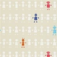 Harlequin Wallpaper - Reggie Robot
