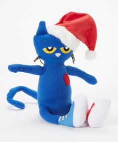 Pete the Cat Saves Christmas Plush Toy