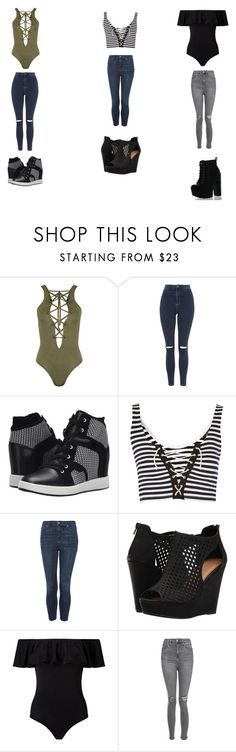 """""""Untitled #340"""" by moree-sabra ❤ liked on Polyvore featuring WearAll, Topshop, L.A.M.B., Chinese Laundry, Miss Selfridge and Soda"""