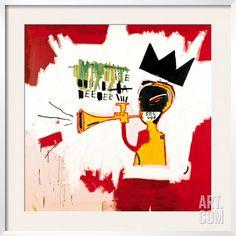 Trumpet, 1984, by Jean-Michel Basquiat