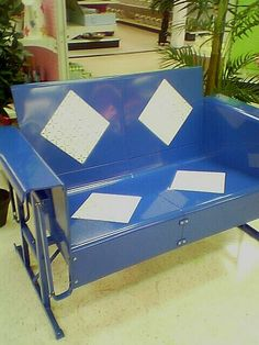 reproduction vintage glider by spacegrrl, via Flickr