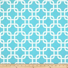 Premier Prints Gotcha Twill Girly Blue from @fabricdotcom - I HAVE THIS PATTERN AND IT'S LOVELY. -  *Use cold water and mild detergent (Woolite). Drying is NOT recommended - Air Dry Only - Do not Dry Clean. Colors include  white and aqua blue.