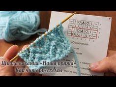 Узор для вязания крючком Ракушки с пышными столбиками. Объемные ракушки. Рельефный узор вязания - YouTube