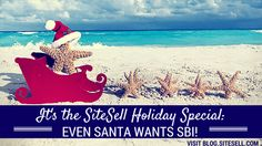 It's The SiteSell Holiday Special! - Even Santa Wants SBI!