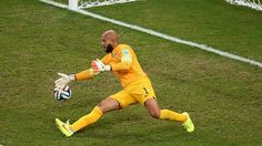 Tim Howard-new U.S. Secretary of Defense. :) He currently holds the record for the most goalie saves in a World Cup with 16 saves to his name.