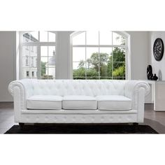 Madison Home Chesterfield Tufted Scroll Arm Sofa - Reviews, Deals & Prices - 17478601 - Mobile